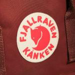 Рюкзак Канкен Классик бордовый логотип 1