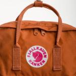 Рюкзак Канкен Классик рыжий логотип