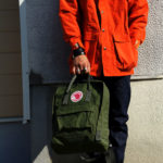 Рюкзак Канкен Классик тёмно-зеленый живое фото