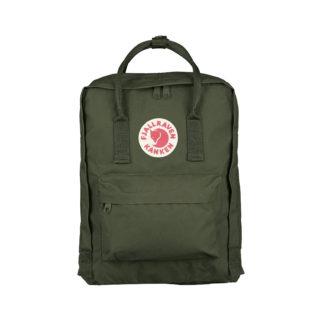 Рюкзак Канкен Классик тёмно-зеленый спереди
