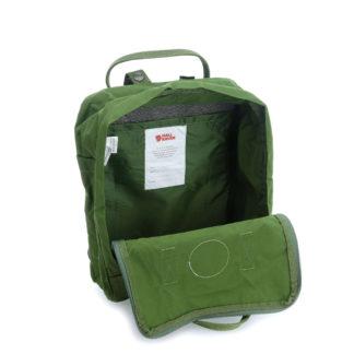 Рюкзак Канкен Классик зеленый внутри