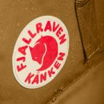 Рюкзак Канкен Классик горчичный логотип