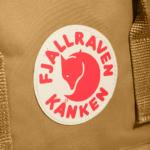Рюкзак Канкен Классик горчичный логотип 1