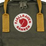 Рюкзак Канкен Классик зеленый логотип 15