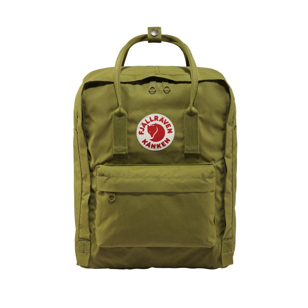 Рюкзак Канкен Классик зеленый спереди 8