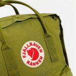 Рюкзак Канкен Классик зеленый логотип 8