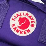 Рюкзак Канкен Классик фиолетовый логотип