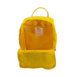 Рюкзак Канкен Классик желтый внутри 1