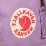 Рюкзак Канкен Классик лиловый логотип 1