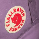 Рюкзак Канкен Классик лиловый логотип 2