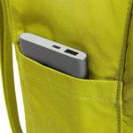 Рюкзак Канкен Классик зеленый боковой карман 1001
