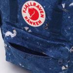 Рюкзак Kanken Art Blue Fable логотип