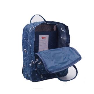 Рюкзак Kanken Art Blue Fable внутри