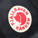 Рюкзак Канкен большой черный логотип