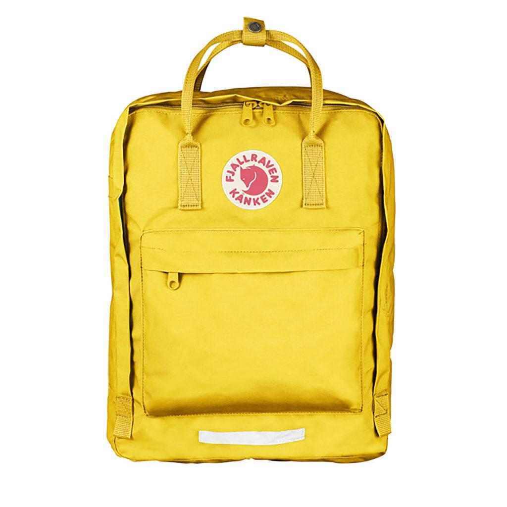 Рюкзак Kanken Big Yellow спереди