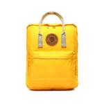 Рюкзак Fjallraven Kanken желтый спереди