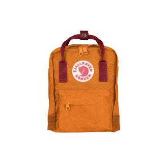 Рюкзак Канкен Мини оранжевый спереди