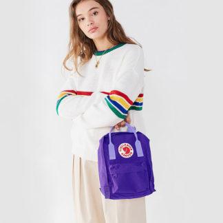 Рюкзак Канкен Мини фиолетовый на модели