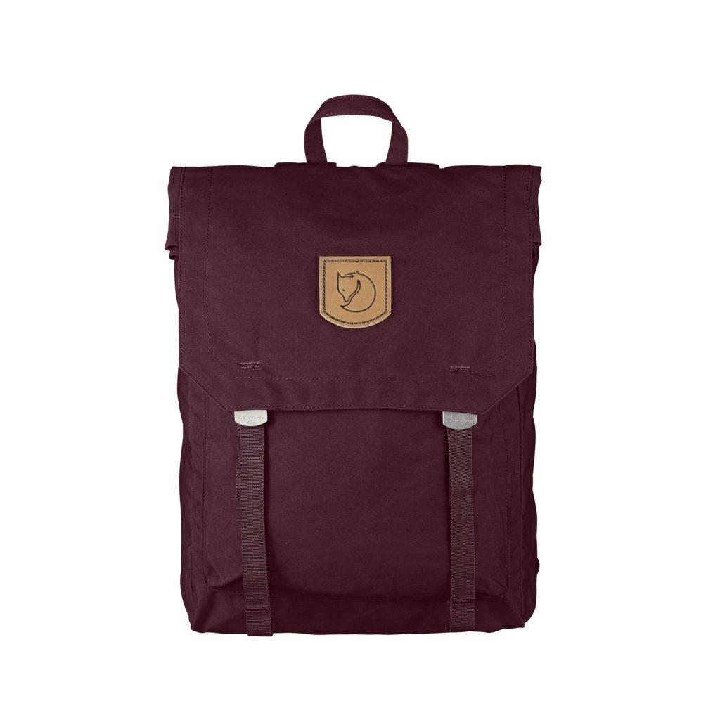 Рюкзак Kanken Foldsack No 1 Dark Garnet спереди