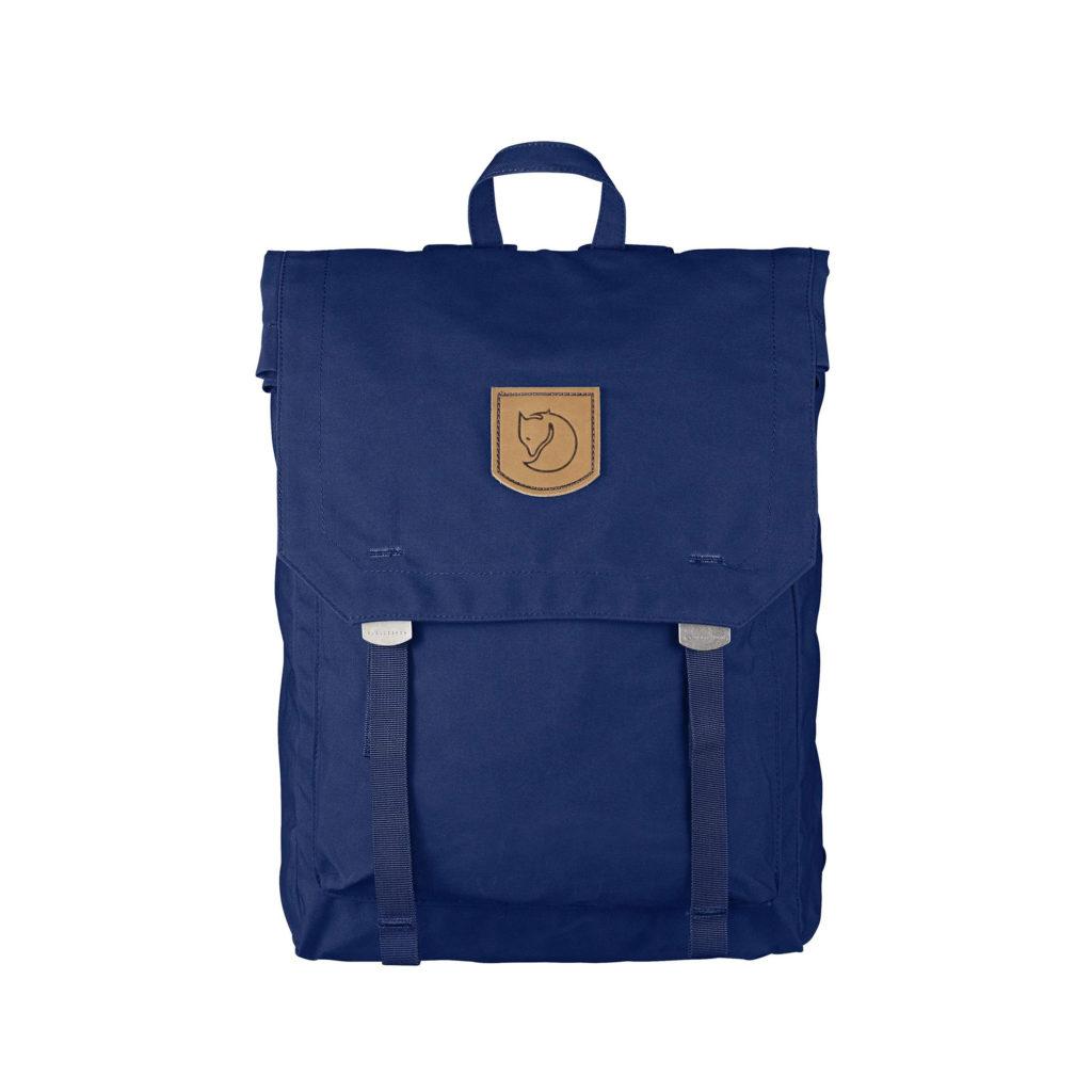 Рюкзак Kanken Foldsack No 1 Deep Blue спереди