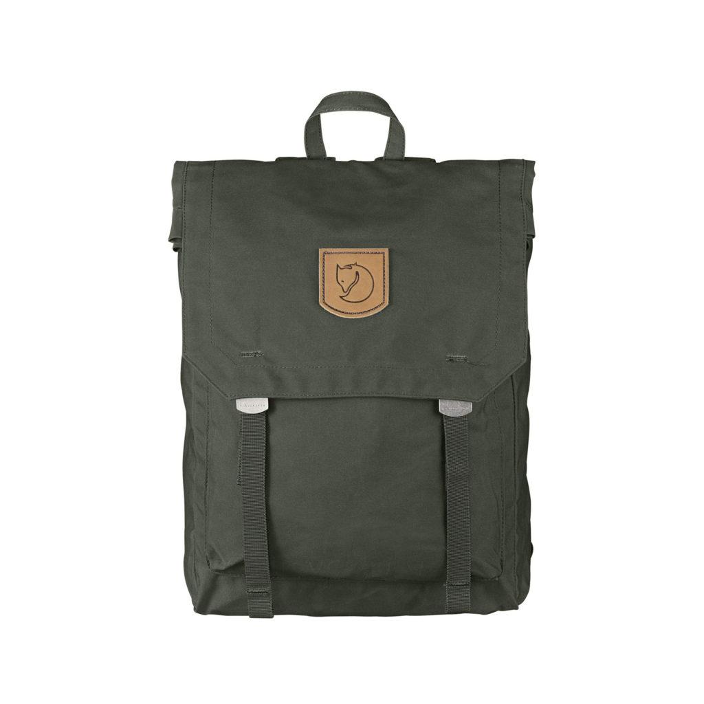 Рюкзак Kanken Foldsack No 1 Deep Forest спереди