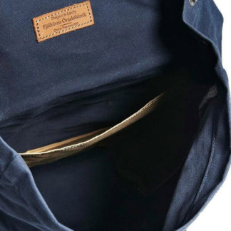 Рюкзак Kanken Foldsack No 1 Navy внутри
