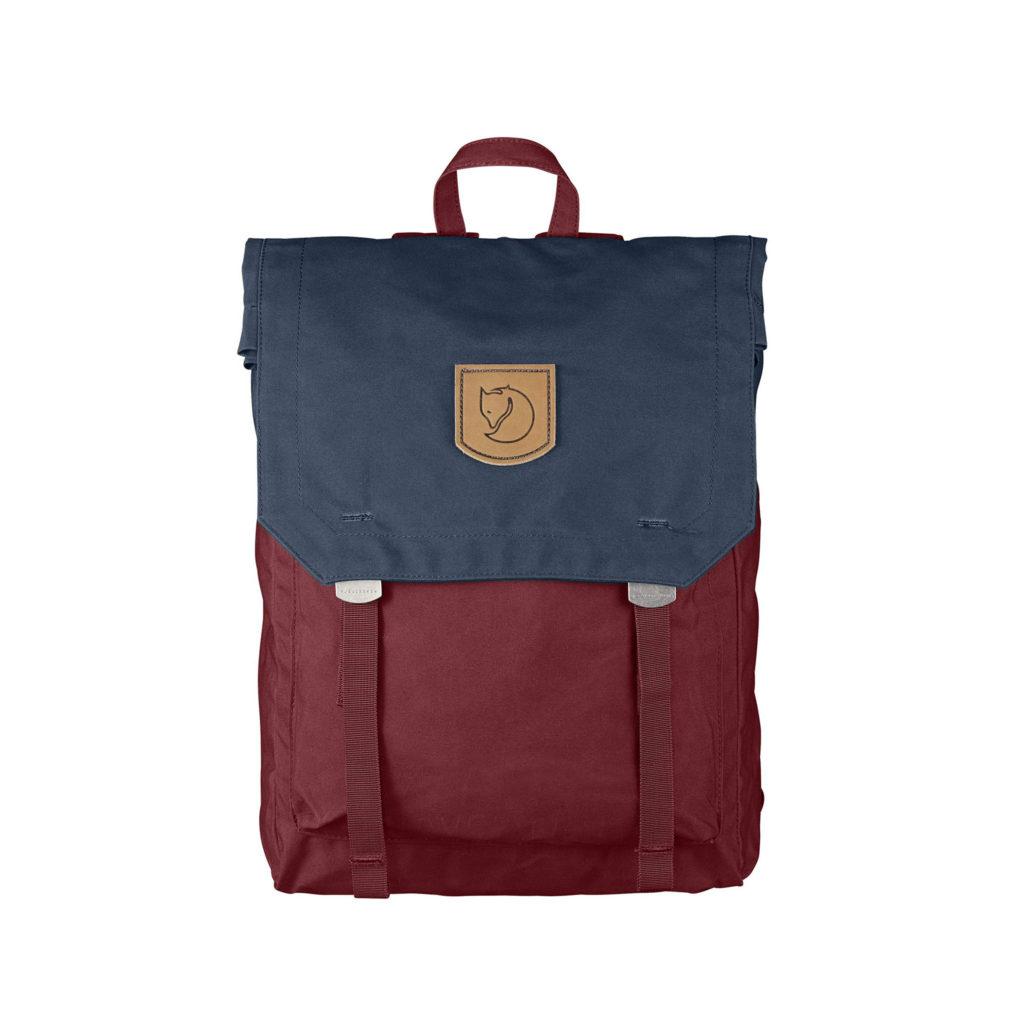 Рюкзак Kanken Foldsack No 1 Navy-Ox Red спереди