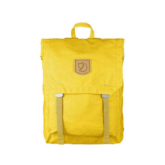 Рюкзак Kanken Foldsack No 1 Yellow спереди