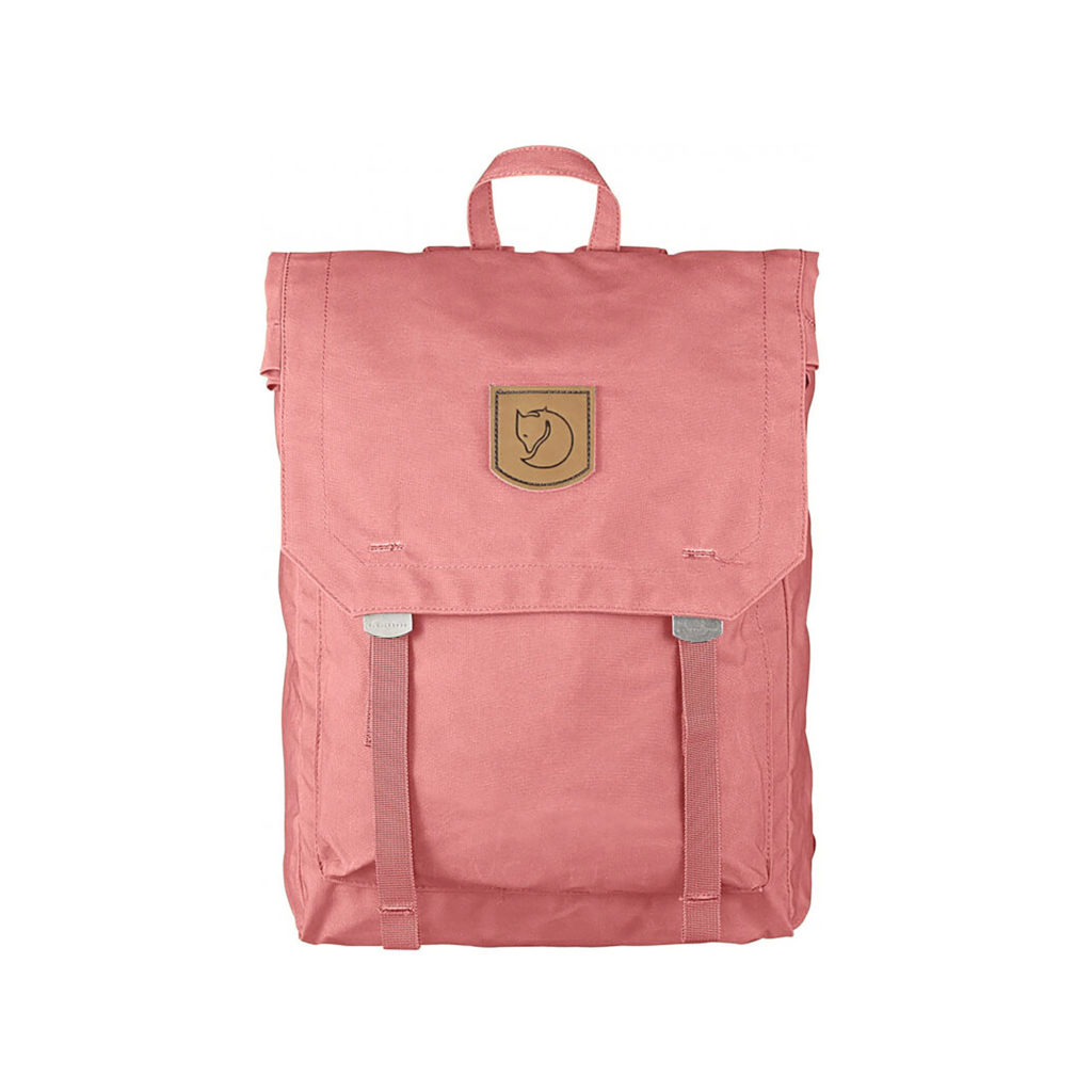 Рюкзак Kanken Foldsack No 1 Pink спереди