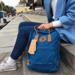 Рюкзак Kanken No 2 Lake Blue на модели