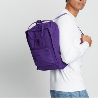 Рюкзак Re Kanken Deep Violet на человеке
