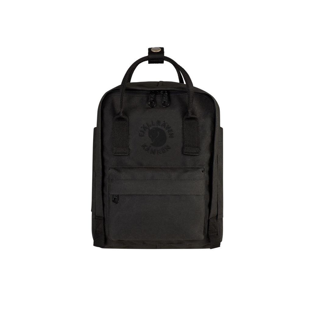 Рюкзак Re Kanken Mini Black спереди