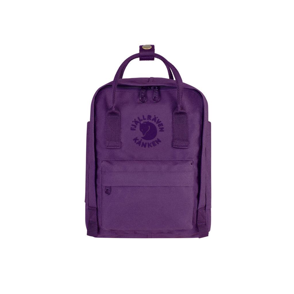 Рюкзак Re Kanken Mini Deep Violet спереди