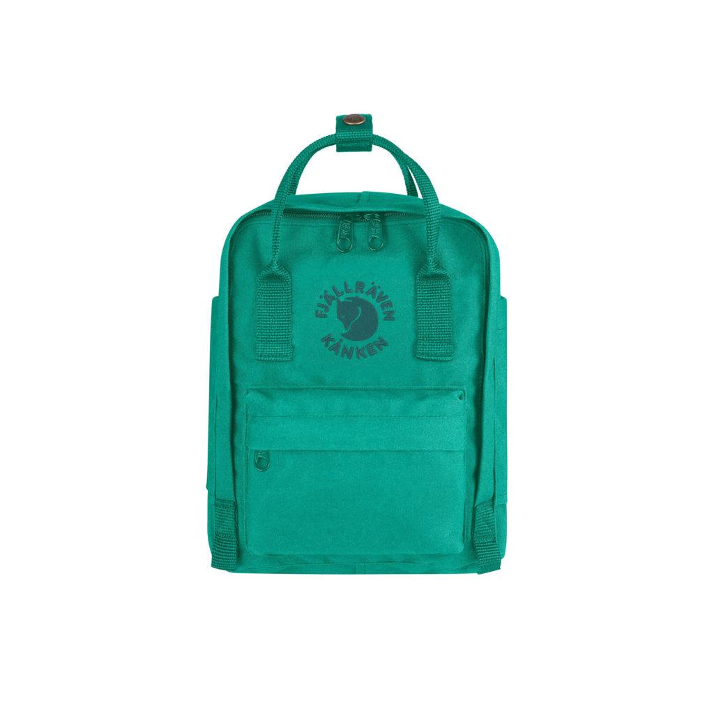 Рюкзак Re Kanken Mini Emerald спереди