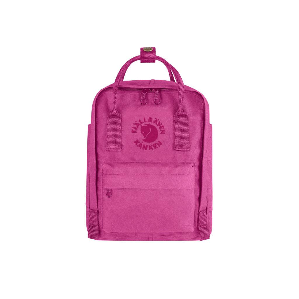 Рюкзак Re Kanken Mini Pink Rose спереди