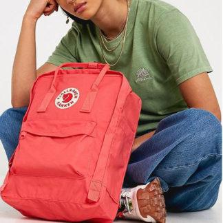 Рюкзак Kanken Laptop 15 Dahlia на модели