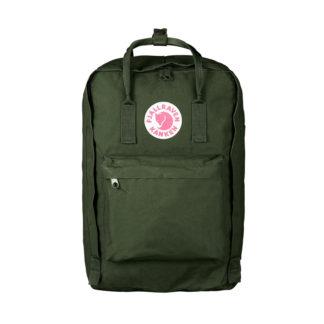 Рюкзак Kanken Laptop 17 Forest Green спереди