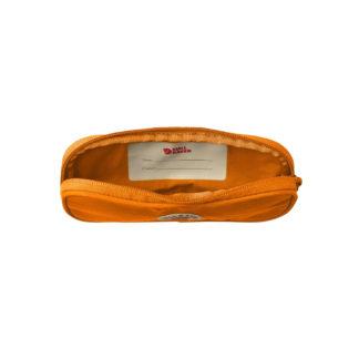 Оранжевый пенал Канкен внутри