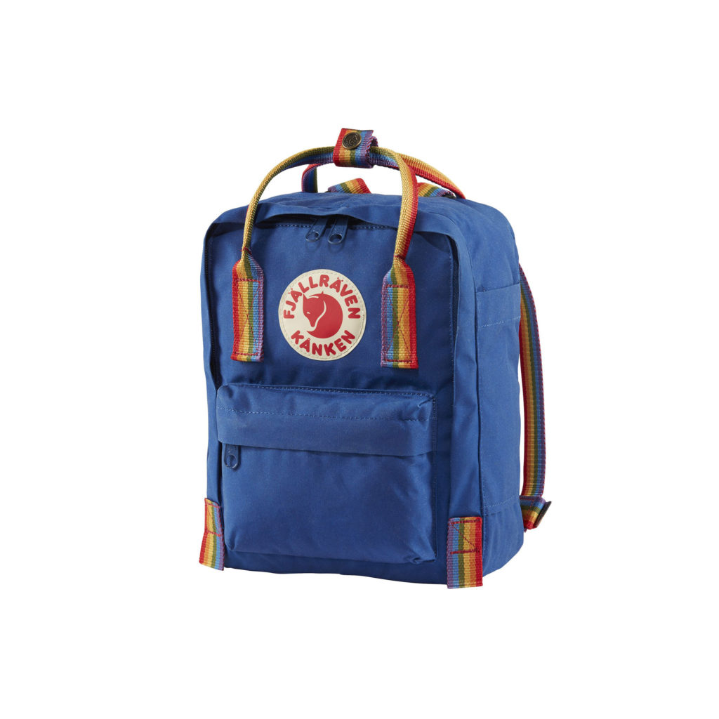 Фото рюкзака Kanken Rainbow Mini Deep Blue 1