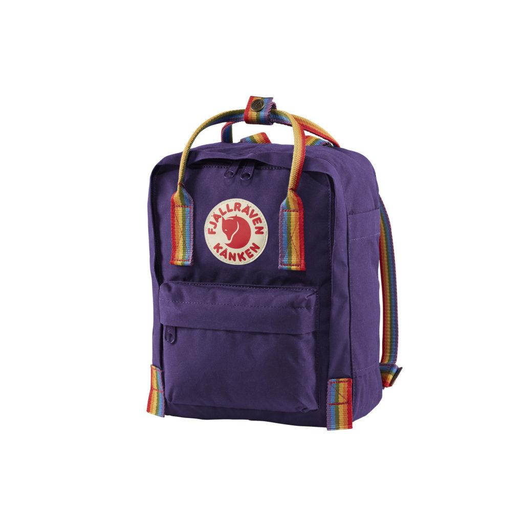 Фото рюкзака Kanken Rainbow Mini Purple 2