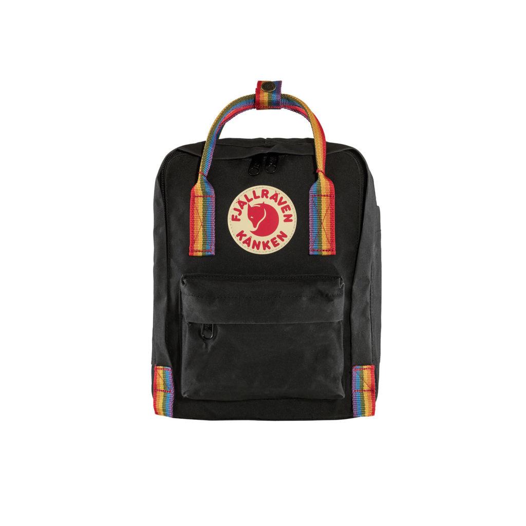 Фото рюкзака Kanken Rainbow Mini Black