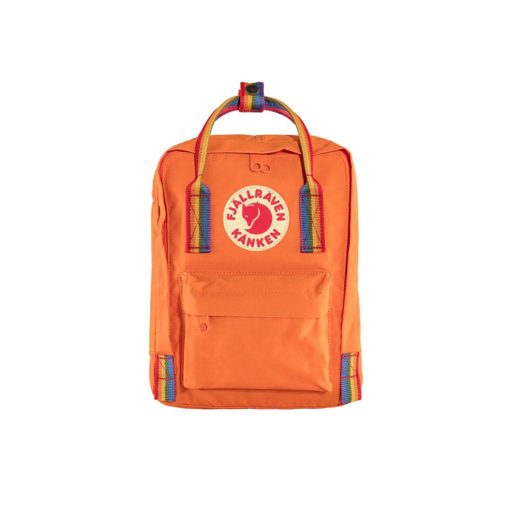 Фото рюкзака Kanken Rainbow Mini Burnt Orange 2