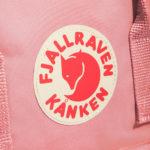Рюкзак Канкен Классик розовый логотип 1