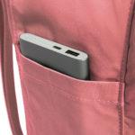 Рюкзак Канкен Классик розовый боковой карман