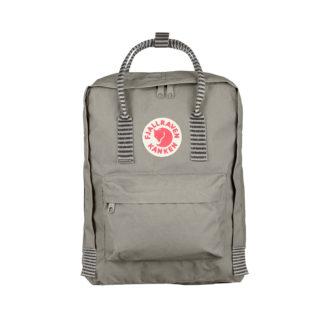 Серый рюкзак Канкен с полосками спереди