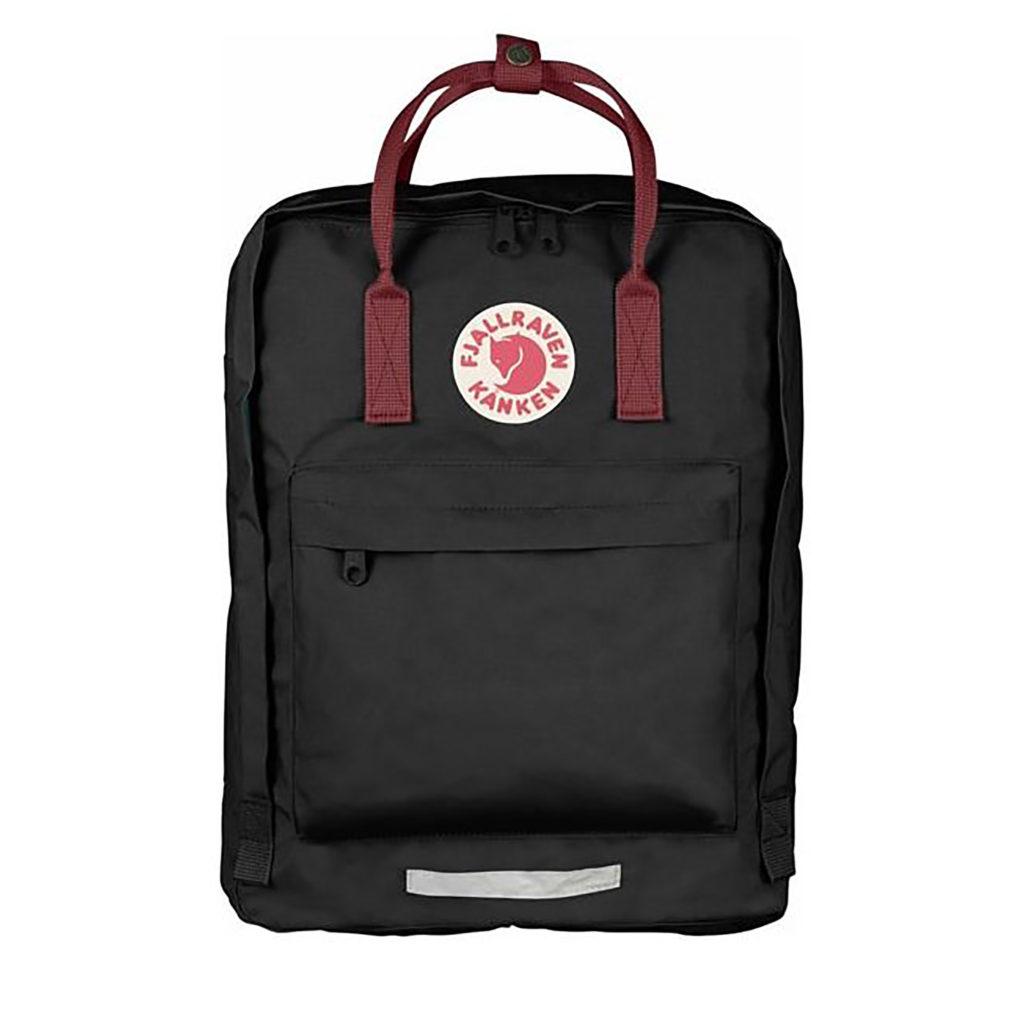 Рюкзак Кануне большой с бордовыми ручками спереди
