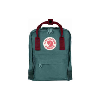 Рюкзак Kanken Mini Frost Green-Ox Red спереди