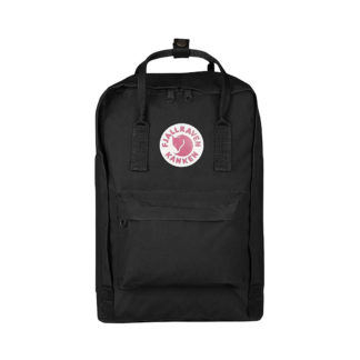 Черный рюкзак Канкен Лаптоп спереди