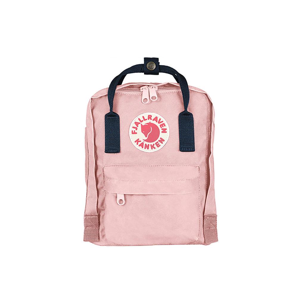 Рюкзак Kanken Mini Pink-Navy спереди