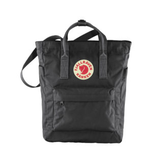 Черная сумка Канкен спереди